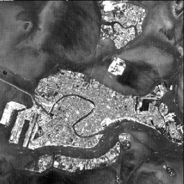 Venezia: fotografia da satellite
